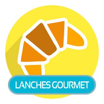 Lanches Gourmet. Clique para ver os produtos.