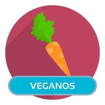Veganos. Clique para ver os produtos.