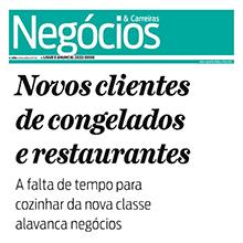 Novos clientes de congelados e restaurantes