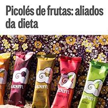 Picoles de frutas: aliados da dieta