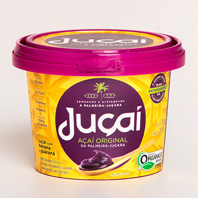 Juçai batido com banana e guaraná 200ml