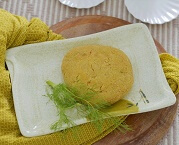 Hambúrguer Vegetariano de Banana (1 unidade). Clique para mais informações.