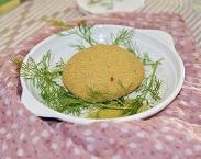 Hambúrguer Vegetariano de Feijão Branco (1 unidade). Clique para mais informações.