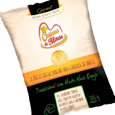 Pão de Queijo Carioca de Minas Tradicional. Clique para mais informações.