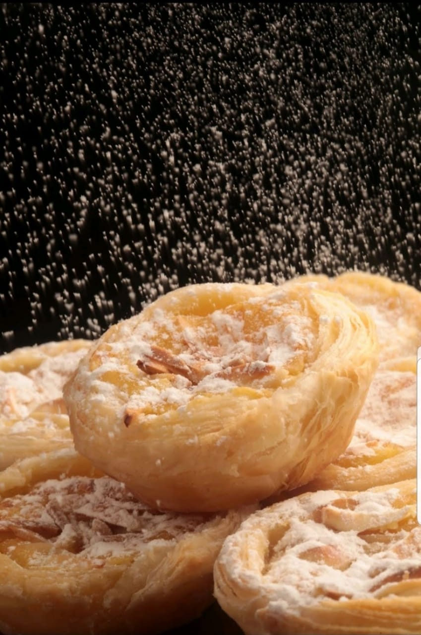 Pastel de Torange. Clique para mais informações.
