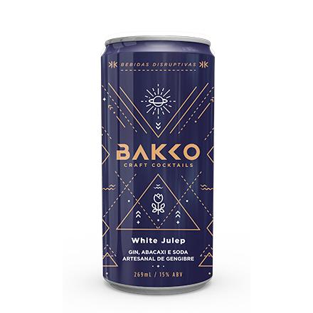 Bakko White Julep - Gin, Abacaxi e Gengibre