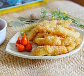 Filezinhos de Peixe Empanados. Clique para mais informações.
