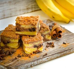 Torta de Banana. Clique para mais informações.