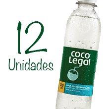 Pacote de água de coco Coco Legal (12 unidades). Clique para mais informações.