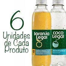 Pacote Legal (6 unidades de água de coco 300 ml + 6 unidades de suco de laranja 300 ml). Clique para mais informações.