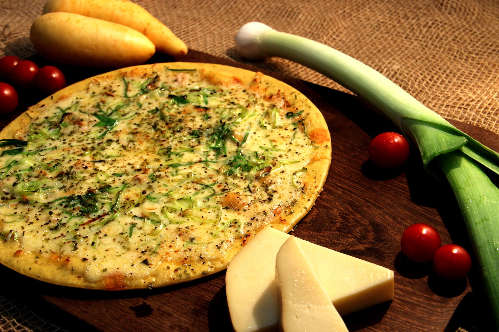 Pizza D'baroa de Quatro Queijos. Clique para mais informações.