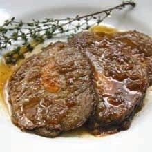 Carne Recheada com Cenouras