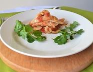 Filé de Peixe com Tomate, Champignon