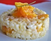 Risotto de Brie com Damasco