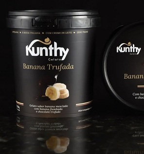 Sorvete Gelato Banana Trufada 360g