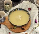 Sopa Creme de Alho Poró