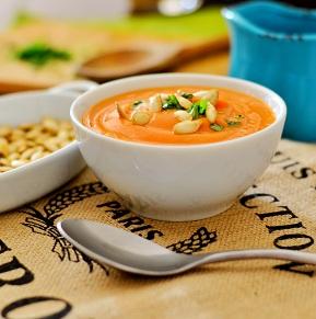 Sopa Creme de Abóbora. Clique para mais informações.
