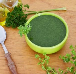 Sopa Creme de Espinafre. Clique para mais informações.