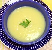 Sopa Creme de Batata Doce com Gengibre. Clique para mais informaçõe.
