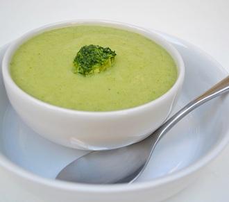 Sopa Creme de Brócolis. Clique para mais informações.