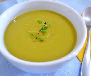 Sopa de Ervilha Vegetariana. Clique para mais informações.