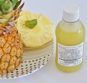 Suco de Abacaxi com Hortelã. Clique para mais informações.