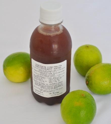 Mate Orgânico com Limão sem Açúcar. Clique para mais informações.