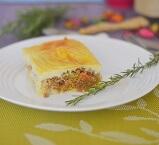 Bolo de Batata com Carne. Clique para mais informações.