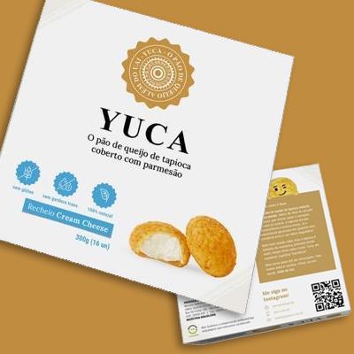 Pão de Queijo de Tapioca com Cream Cheese. Clique para mais informações.
